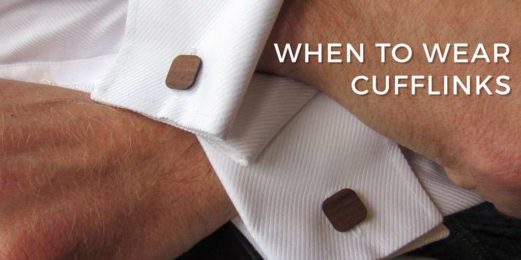 When to wear cufflinks?
