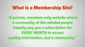What are paid membership sites ?